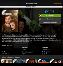 Düsseldorf 2039 auf Amazon Prime Video
