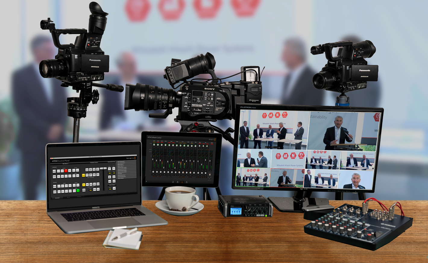 Videoproduktion und Livestreaming in Düsseldorf