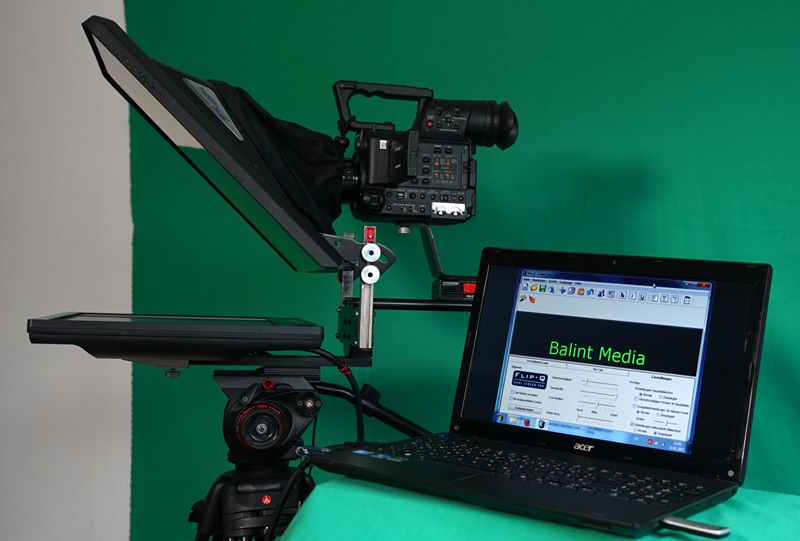 Teleprompter Workshop Moderation Training